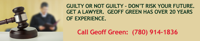 Guilty or not guilty, call criminal lawyer Geoff Green.